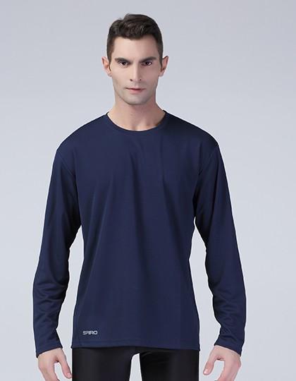SPIRO Herren Langarm Shirt