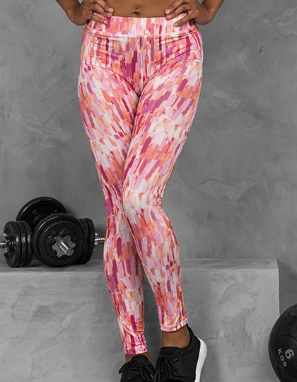 Just Cool Damen Printed-Legging