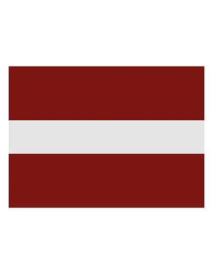 Printwear Fahne Lettland
