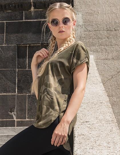 BuildYourBrand Damen Kurzarm T-Shirt