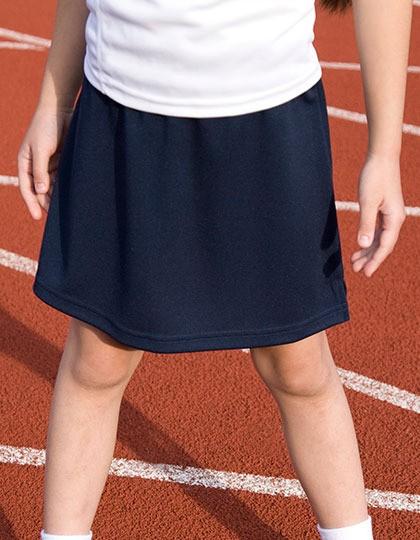 SPIRO Mädchen Rock mit integrierter Sport Pant