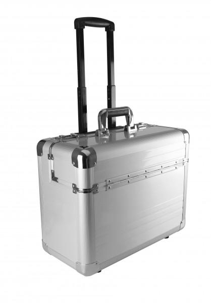 Ki-Mood Trolley-Koffer/-Aktenkoffer aus Aluminium
