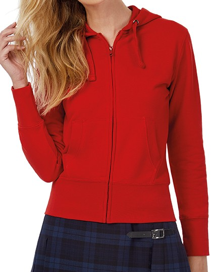 B&C Kapuzensweatshirt für Damen