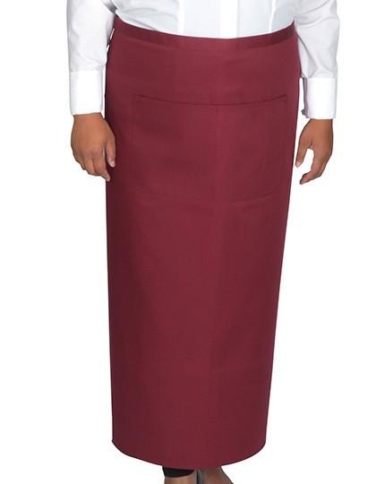 Link Kitchenwear Bistroschürze mit Fronttasche 120 x 100 cm