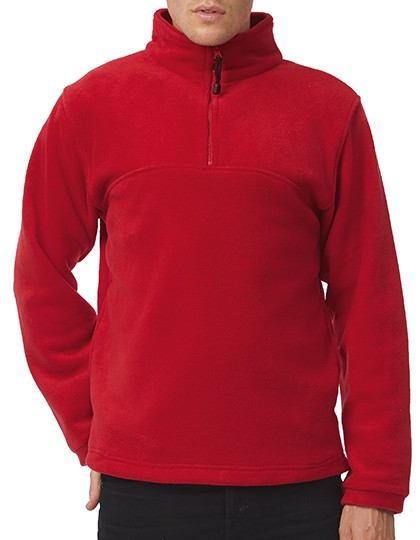 B&C Herren Fleece-Shirt