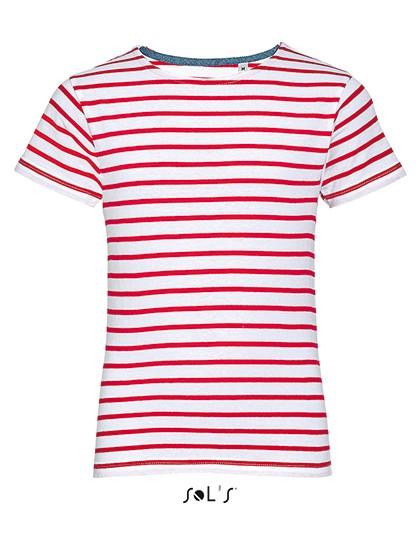 Sol's Kinder Rundhals T-Shirt gestreift