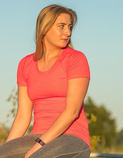 SPIRO Fitness T-Shirt für Damen