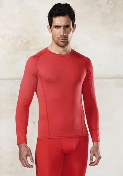 PRO ACT Langarm Doppelhaut T-Shirt Schnelltrocknend