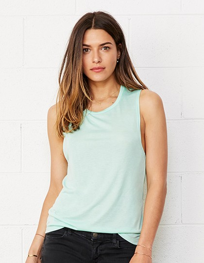 Bella + Canvas Damen Muskel T-Shirt