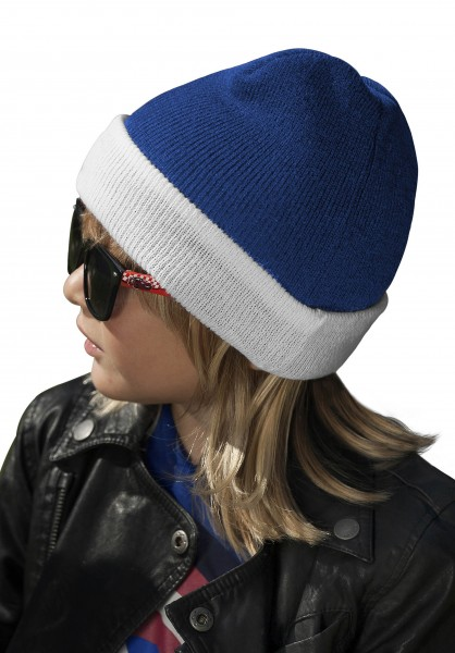 K-UP Two-Tone Kids Hat with Turn Up