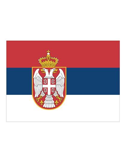 Printwear Fahne Serbien