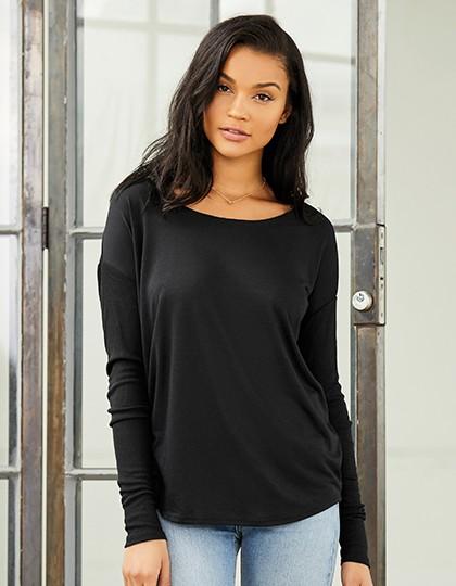 Bella + Canvas Damen T-Shirt Fallender Schulteransatz