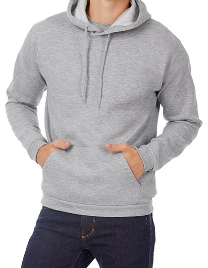 B&C Kapuzensweatshirt für Herren
