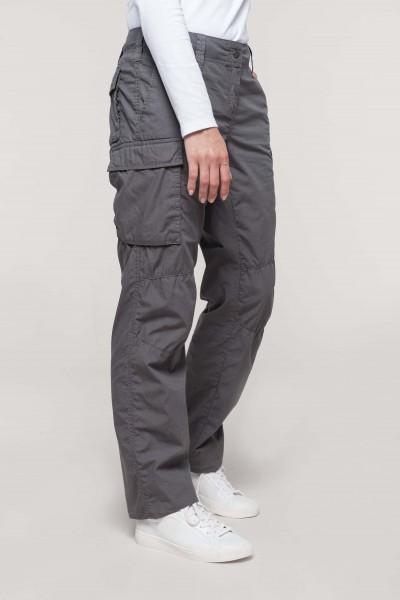 Kariban Leichte Damenhose mit mehreren Taschen