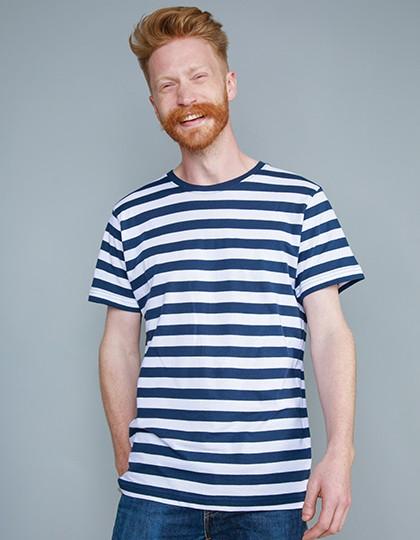 Mantis T-Shirt für Herren mit Streifen