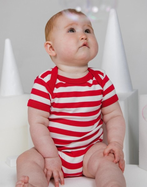 Babybugz Baby Streifen-Schlaf-Bodysuit
