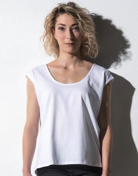 nakedshirt Damen Fashion T-Shirt