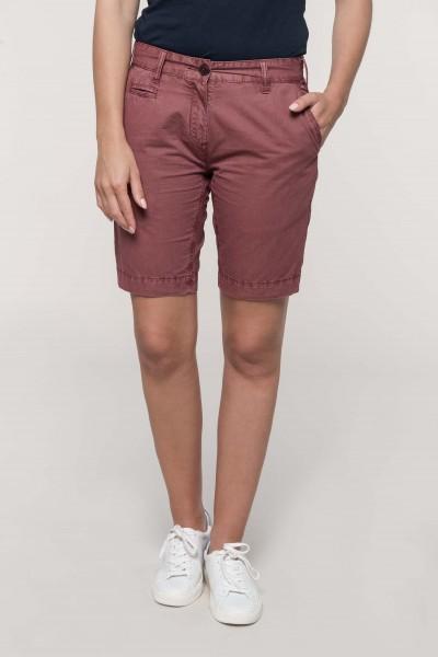 Kariban Bermuda-Shorts für Damen