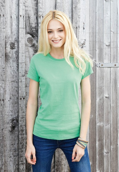 Kariban Damen Vintage Kurzarm T-Shirt