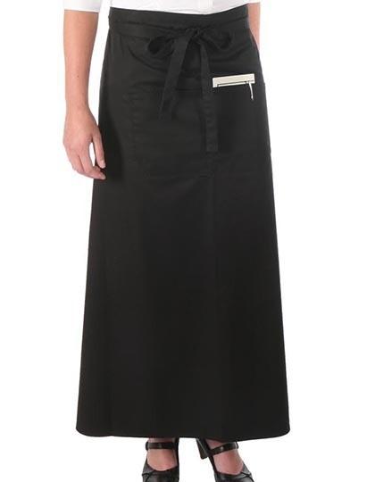 Link Kitchenwear Bistroschürze mit Fronttasche 100 x 100 cm