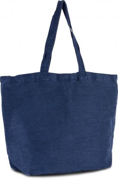 KI-Mood Große Jute-Baumwoll-Tasche mit Innenfutter