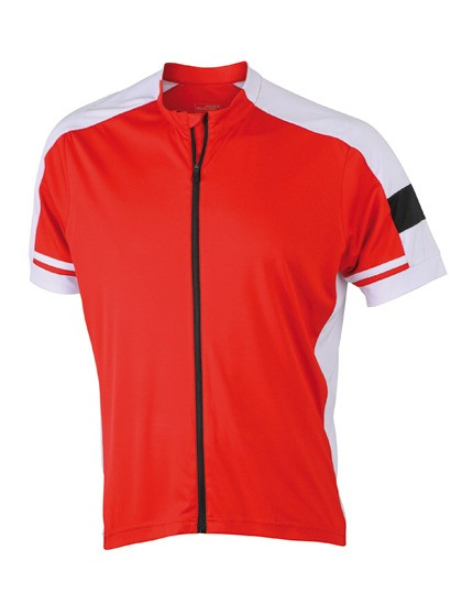 James & Nicholson Herren Fahrradshirt