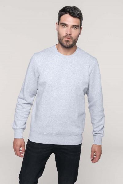 Kariban Rundhals Sweatshirt für Herren