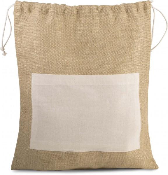 KI-Mood Tasche aus Jutestoff mit Kordel