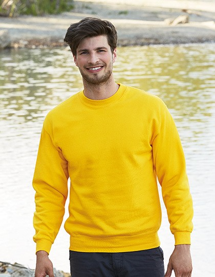 Fruit of the Loom Classic Set-In Sweat für Herren