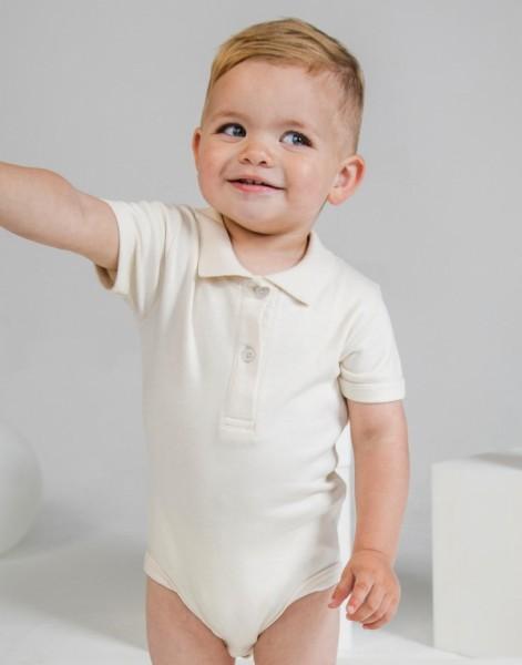 Babybugz Baby Organic Polo Bodysuit