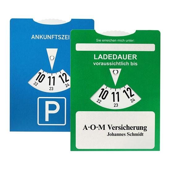 Ladedauer-Scheibe für Elektroautos 100 Stück