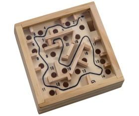 Macma Labyrinth Spiel aus Holz VE 100 Stück