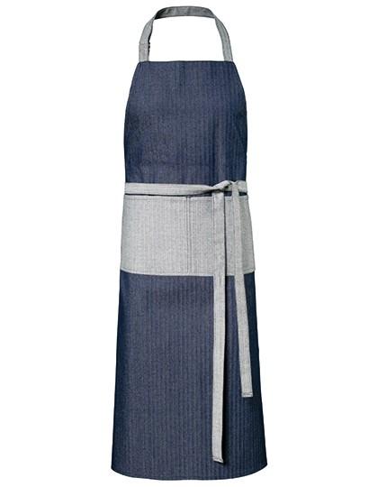 Exner Jeans-Latzschürze 2-farbig