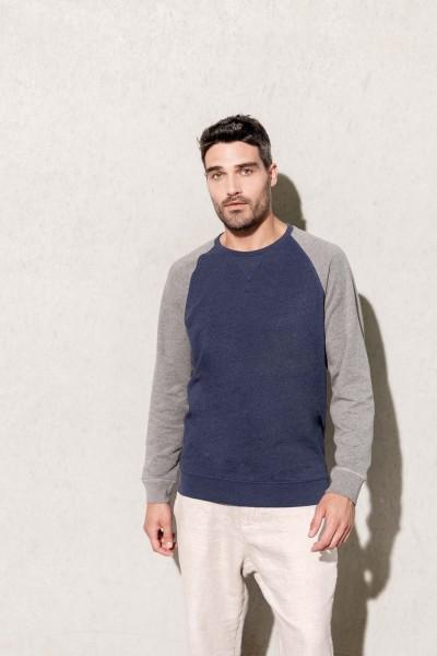 Kariban Zweifarbiges Sweatshirt für Herren