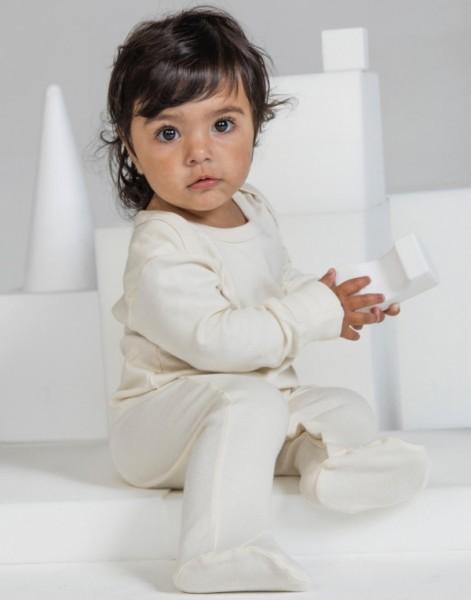 Babybugz Organic Sleepsuit mit Kratzschutz