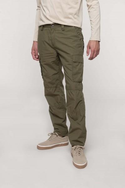 Kariban Leichte Herrenhose mit mehreren Taschen