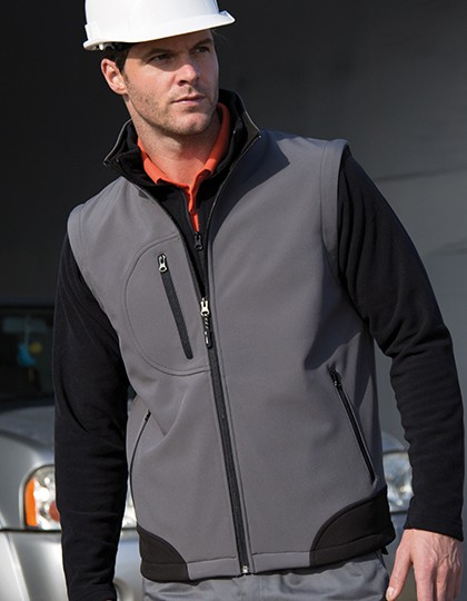 Result Soft Shell Bodywarmer für Herren