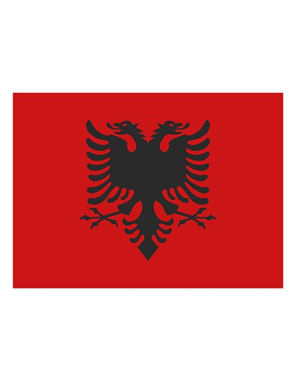 Printwear Fahne Albanien