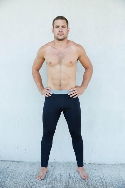 PRO ACT Herren Sportunterwäsche – Leggings