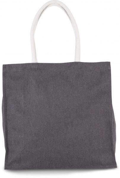 KI-Mood Große Shoppingtasche aus Baumwollpolyester
