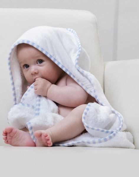 Jassz Po Baby-Kapuzenhandtuch (72 x 72 cm)