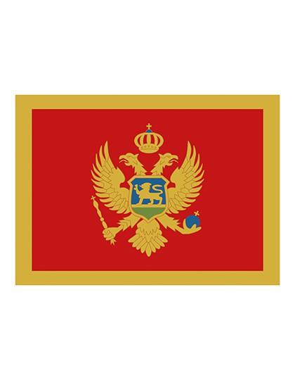 Printwear Fahne Montenegro
