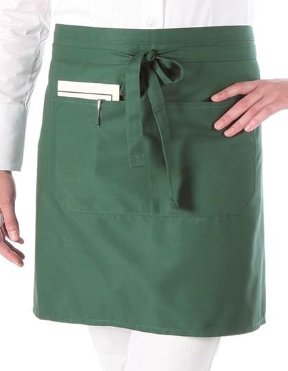 Link Kitchenwear Halbschürze mit Tasche 90 x 50 cm