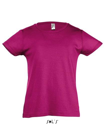 Sol's Mädchen T-Shirt Cherry