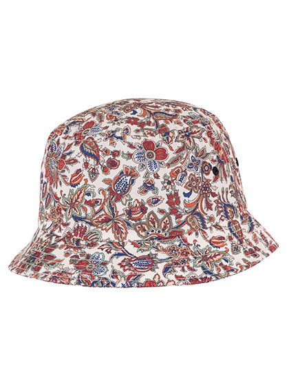 FLEXFIT Flower Pattern Bucket Hat